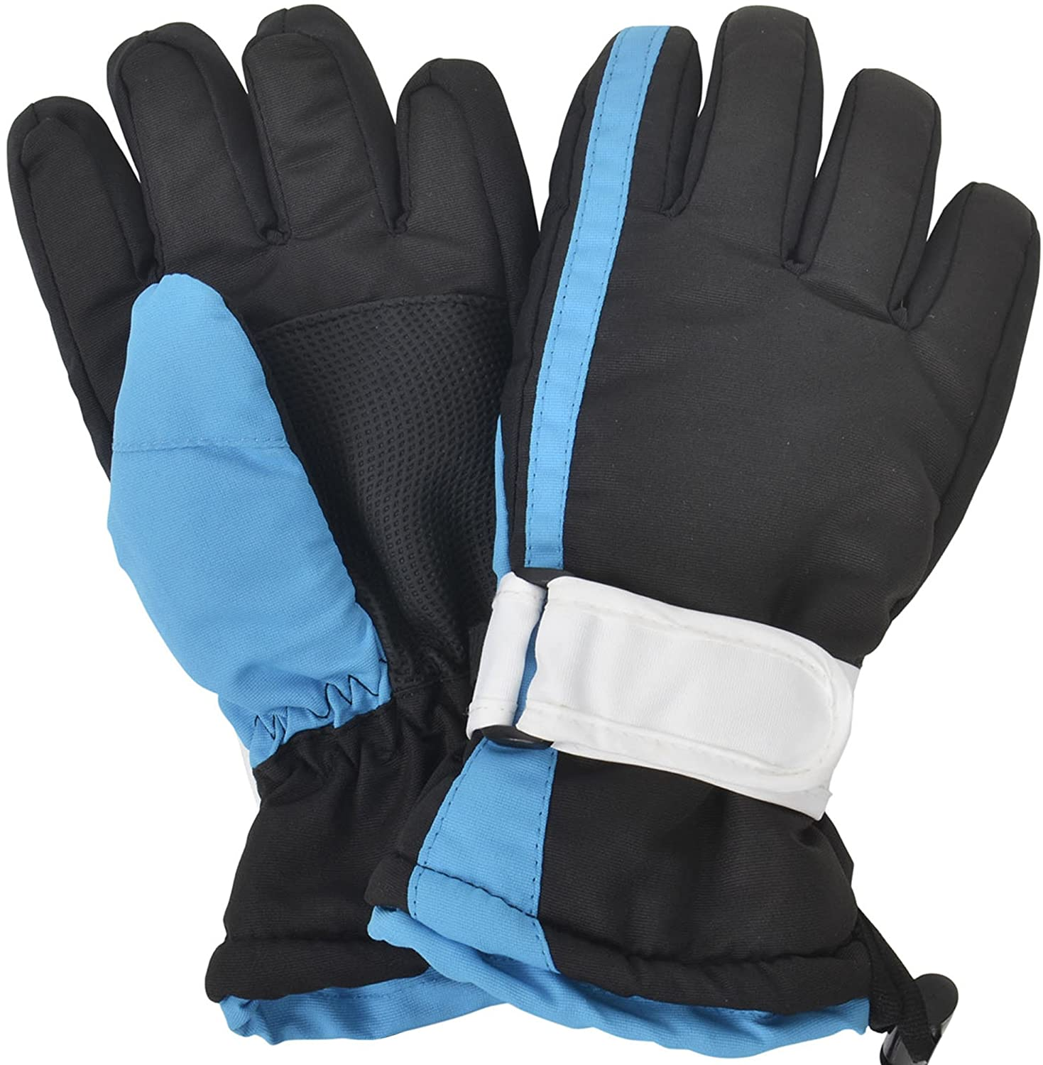 Kids Ski Gloves Waterproof 3M Thinsulate Winter Snow Gloves S Simplicity 88-B15060012-01