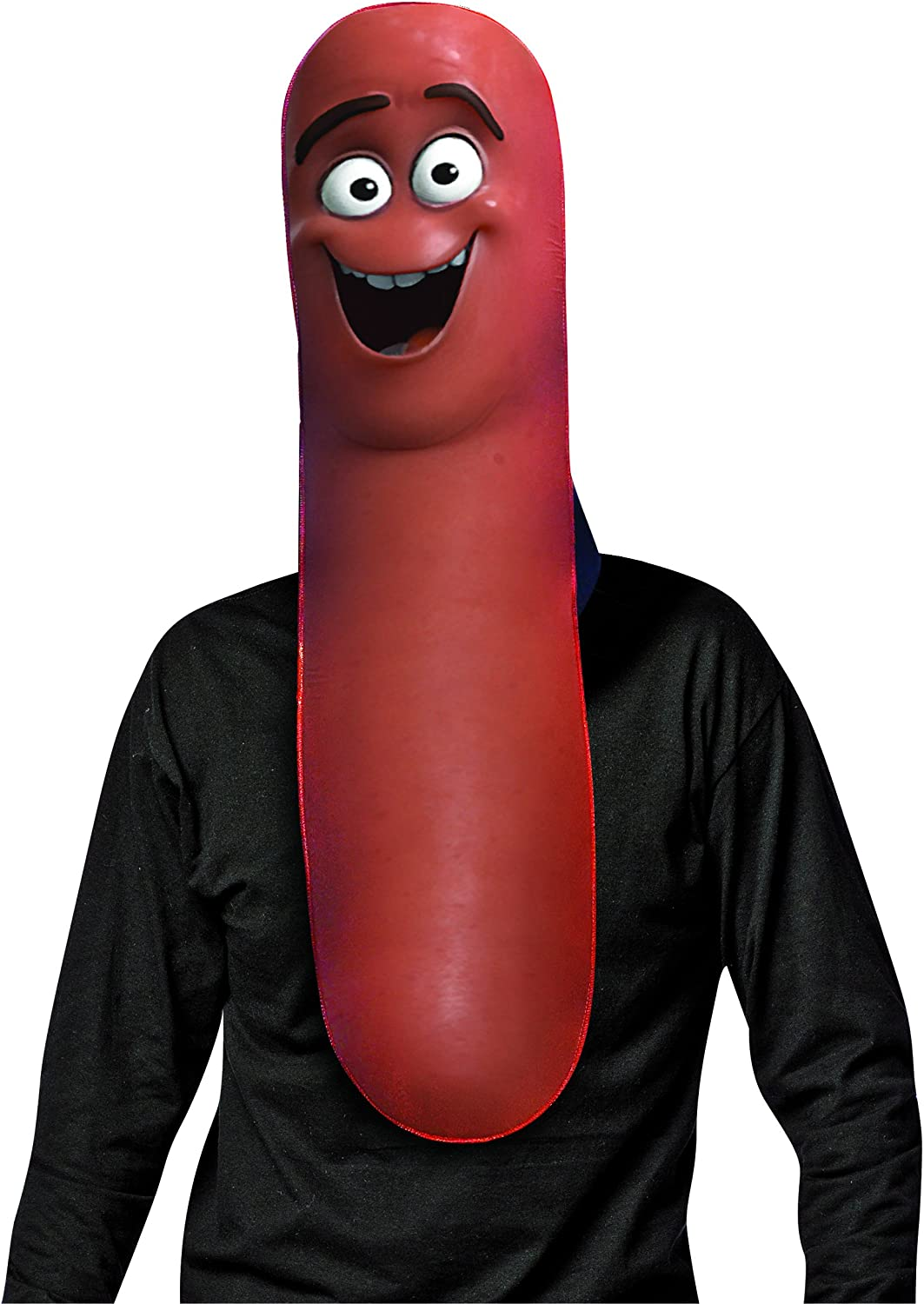 Sausage Party Frank Mask Adult Wiener Food Character Costume Party Accessory