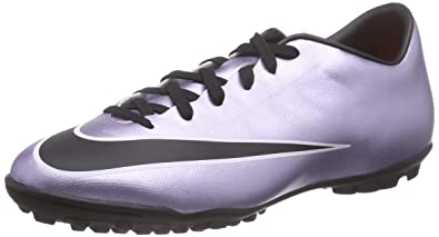 7dd0c55202c Image Unavailable. Image not available for. Color  Nike Mens Mercurial  Victory V Tf Urbn Lilac Black Brght Mgn White Turf