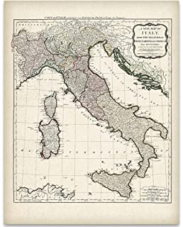 National Geographic: Italy Classic Wall Map (23.25 x 34.25 inches ...