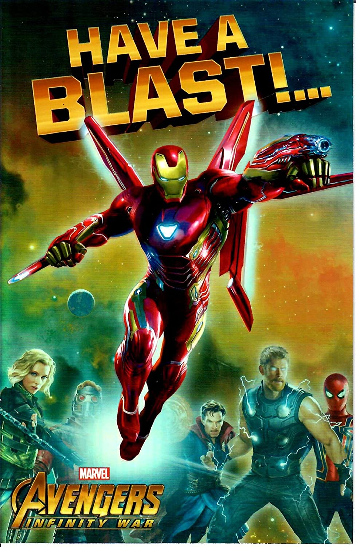 Tarjeta de cumpleaños de Marvel Avengers Infinity War ...