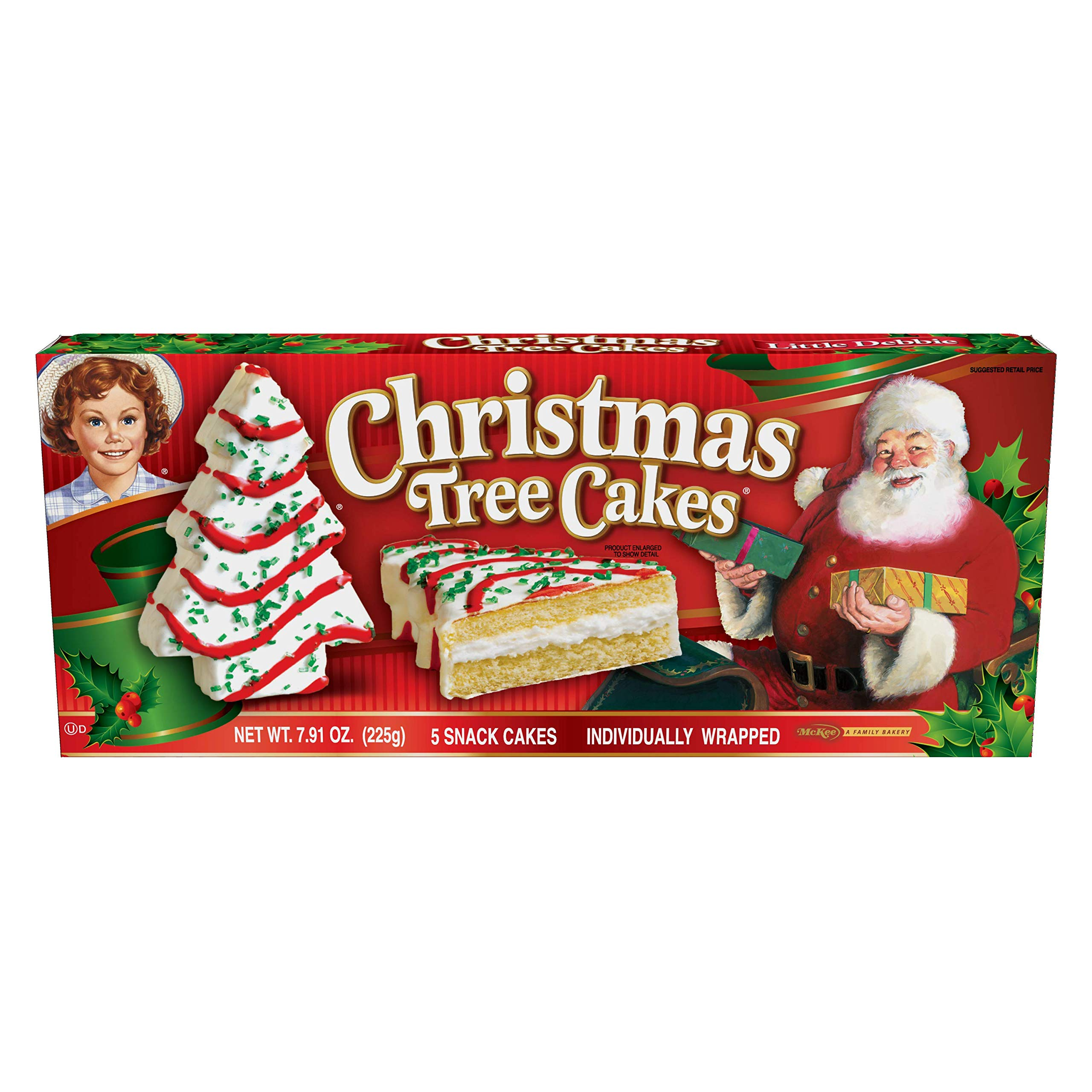 Amazon Little Debbie Christmas Tree Cakes Vanilla Grocery
