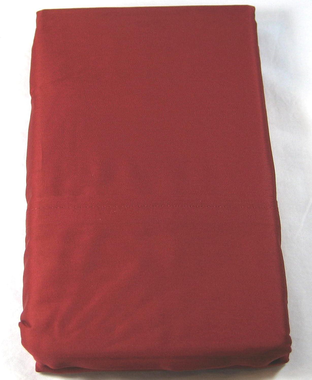 Ralph Lauren Set of Two Admiral Red Dunham Sateen Pillowcases, King Size