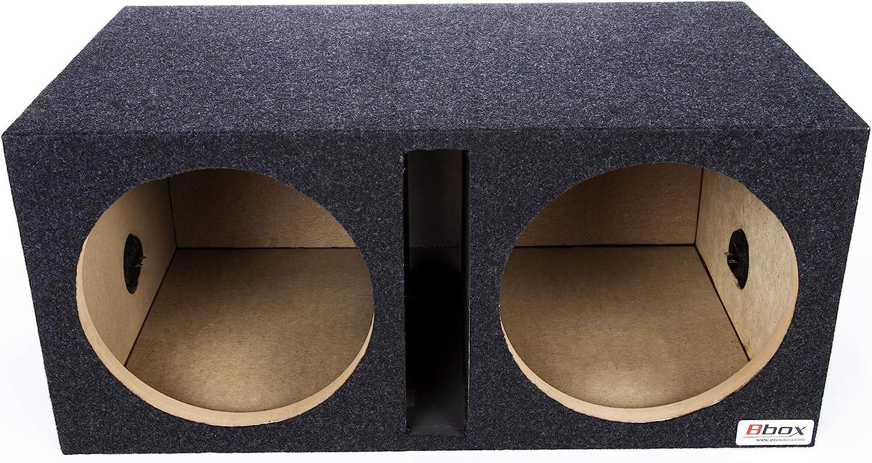 "Atrend Bbox E12DSV Dual 12"" Subwoofer Enclosure"