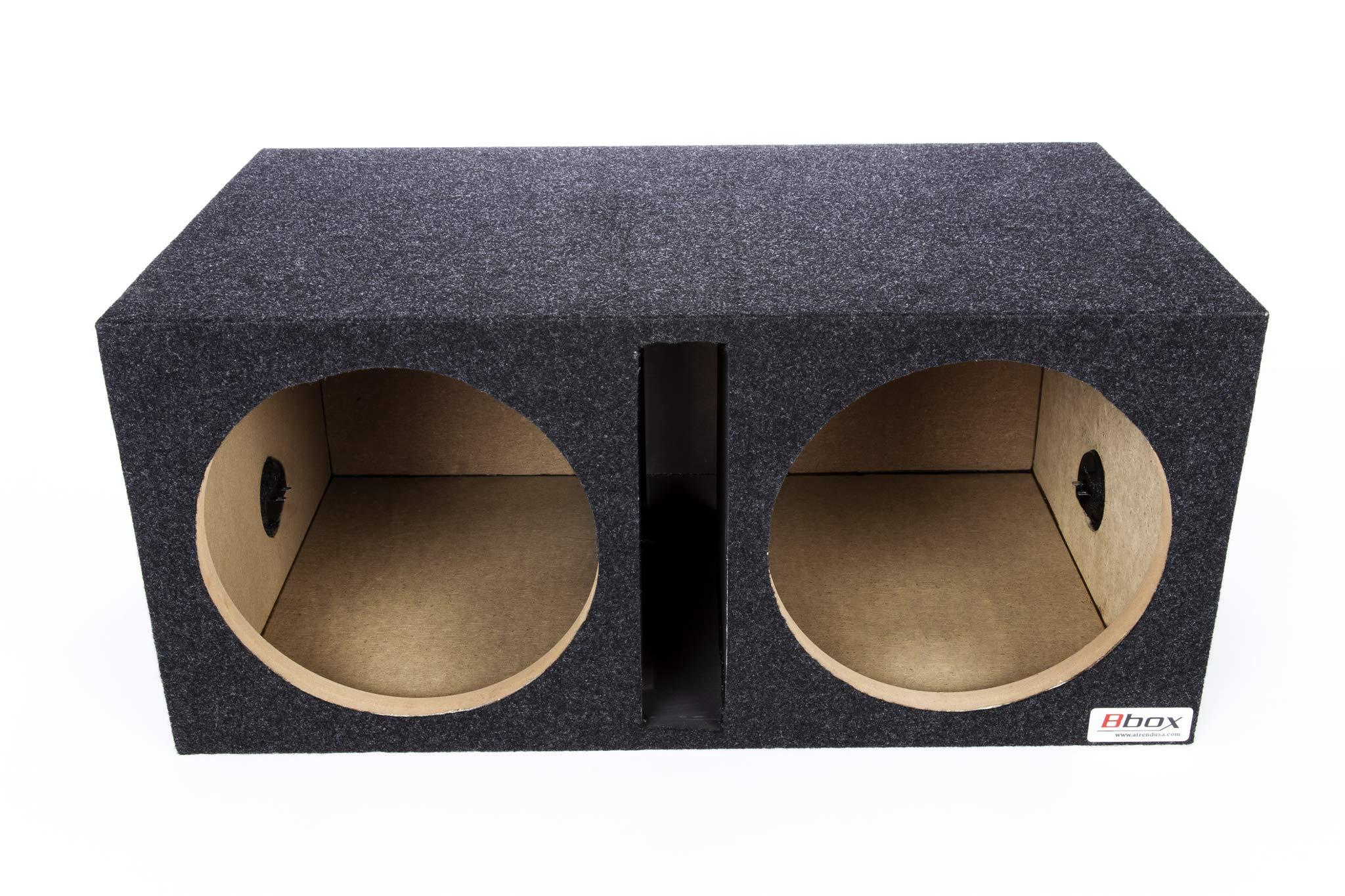 "Atrend Bbox E15DSV Pro-Series 15"" Dual Vented Subwoofer Enclosure, charcoal"