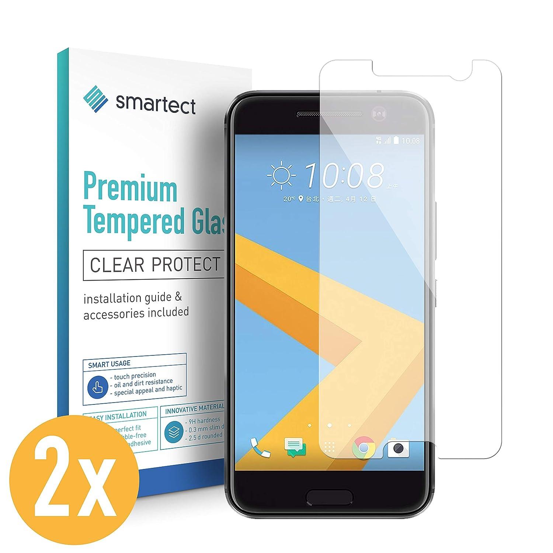 8d0bb93b1a6 smartect Protector de Pantalla para HTC Desire 10 Lifestyle [2 Unidades]:  Amazon.es: Electrónica