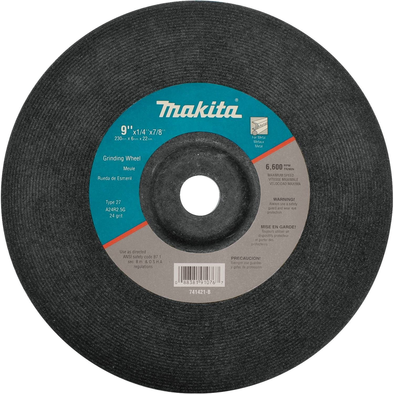 Makita 741421-B-10 9-Inch Grinding Wheel, 10-Pack