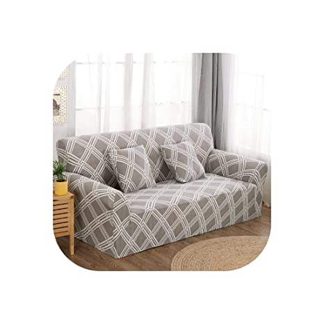 LittleBeautiful Slipcover Funda de sofá elástica de Licra ...