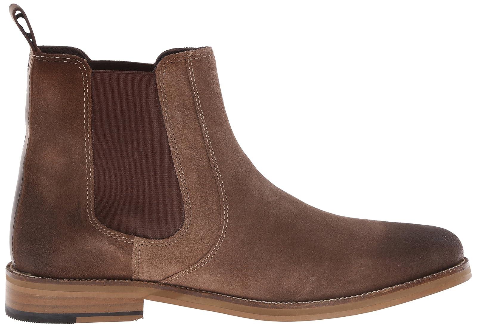 Crevo Men's Denham Chelsea Boot Black Black - 7