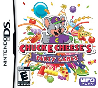 Chuck E Cheeses Party Games: Nintendo DS: Computer and Video