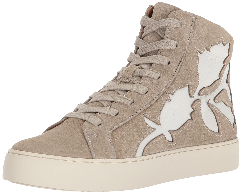 FRYE Women's Lena Flora High Sneaker B072QLD3NK 11 B(M) US|Cement