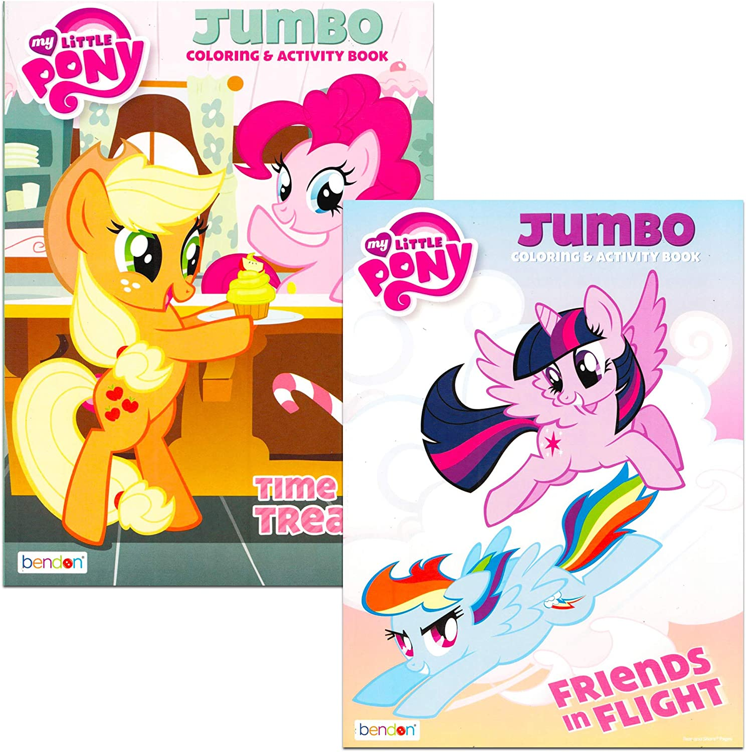 - Amazon.com: My Little Pony Jumbo Coloring And Activity Book 96