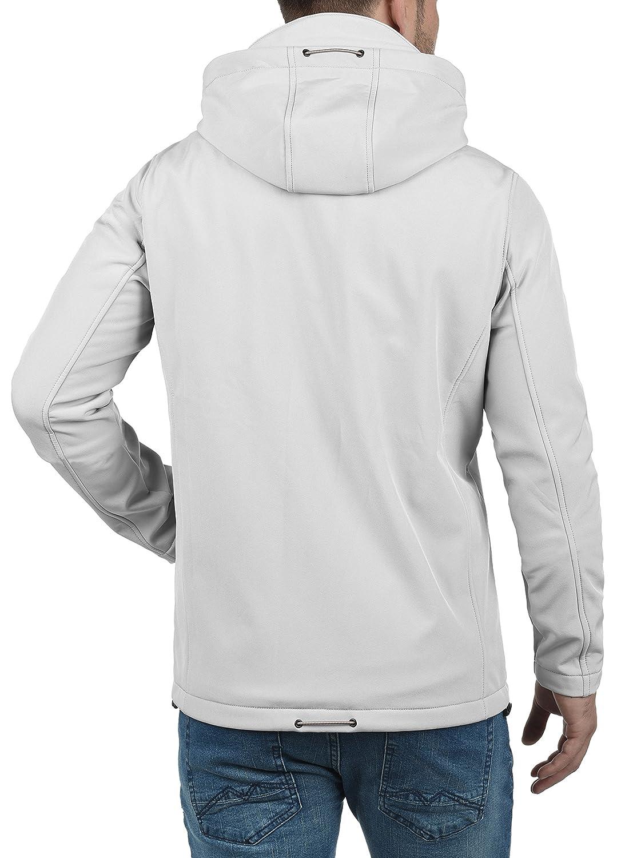 Indicode Deegan Chaqueta Softshell Abrigo Chaquetas De Entretiempo Para Hombre Con Capucha Con Forro Polar Suave Al Tacto