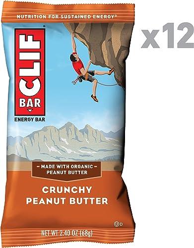 CLIF BAR – Energy Bar- Crunchy Peanut Butter