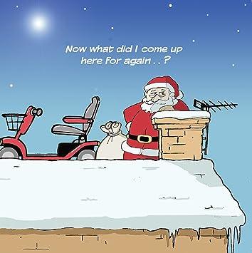 Frohe Weihnachten Lustige Bilder.Twizler Merry Christmas Karte Mit Nikolaus Kamin Und Einem