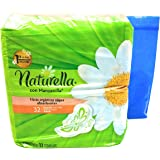 Naturella con Manzanilla Toallas, 32 Count and Tesadorz Resealable Bags