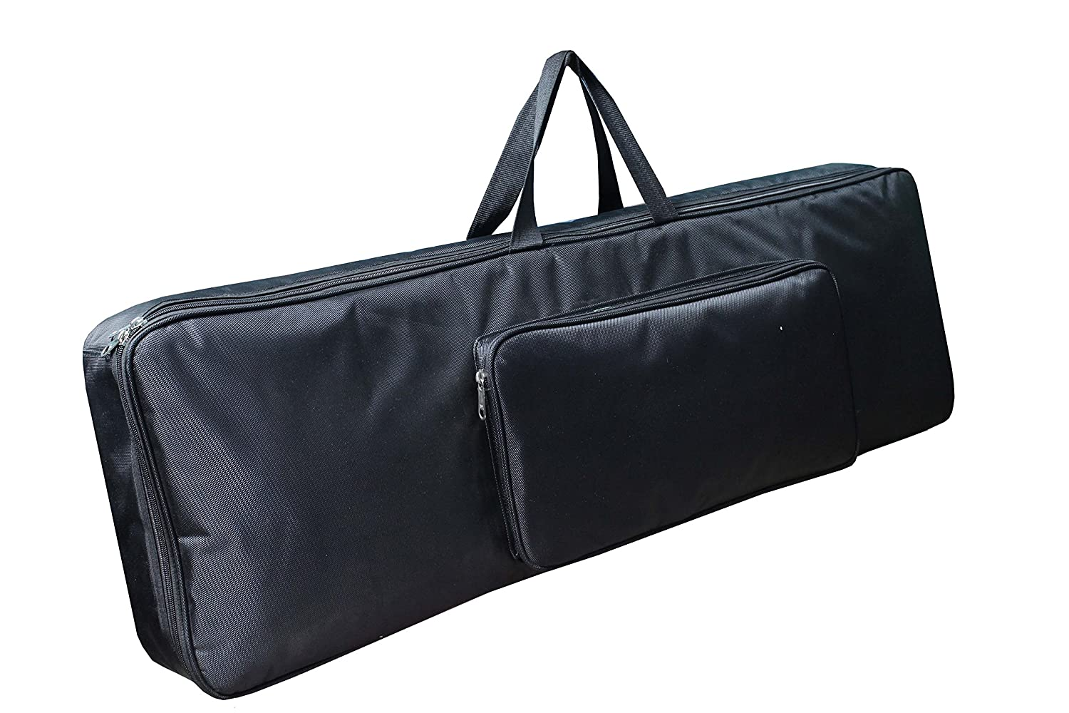 Baritone Distribution Case For Yamaha DGX-660 88-Keys Keyboard Heavy Padded Full Black Gig Bag (Bag Size 58X20X7 Inch) Novation MiniNova 37