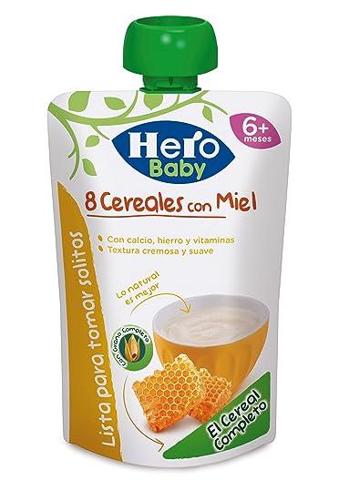 Hero Baby Bolsita 8 Cereales con Miel - 100 gr
