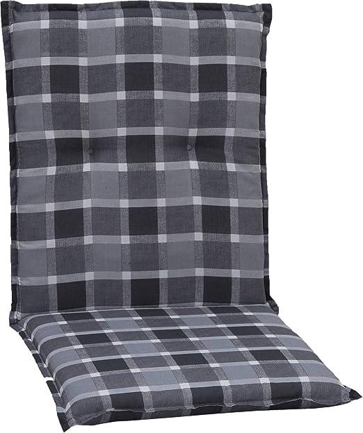 Gartenstuhl-Kissen - Cojines para sillas de jardín, 98 x 48 x 6 cm: Amazon.es: Jardín