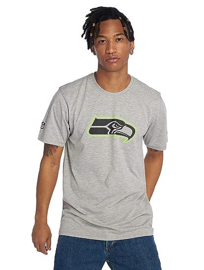 New Era Men T-Shirts NFL Seattle Seahawks Fan  Amazon.co.uk  Clothing f3473bbce