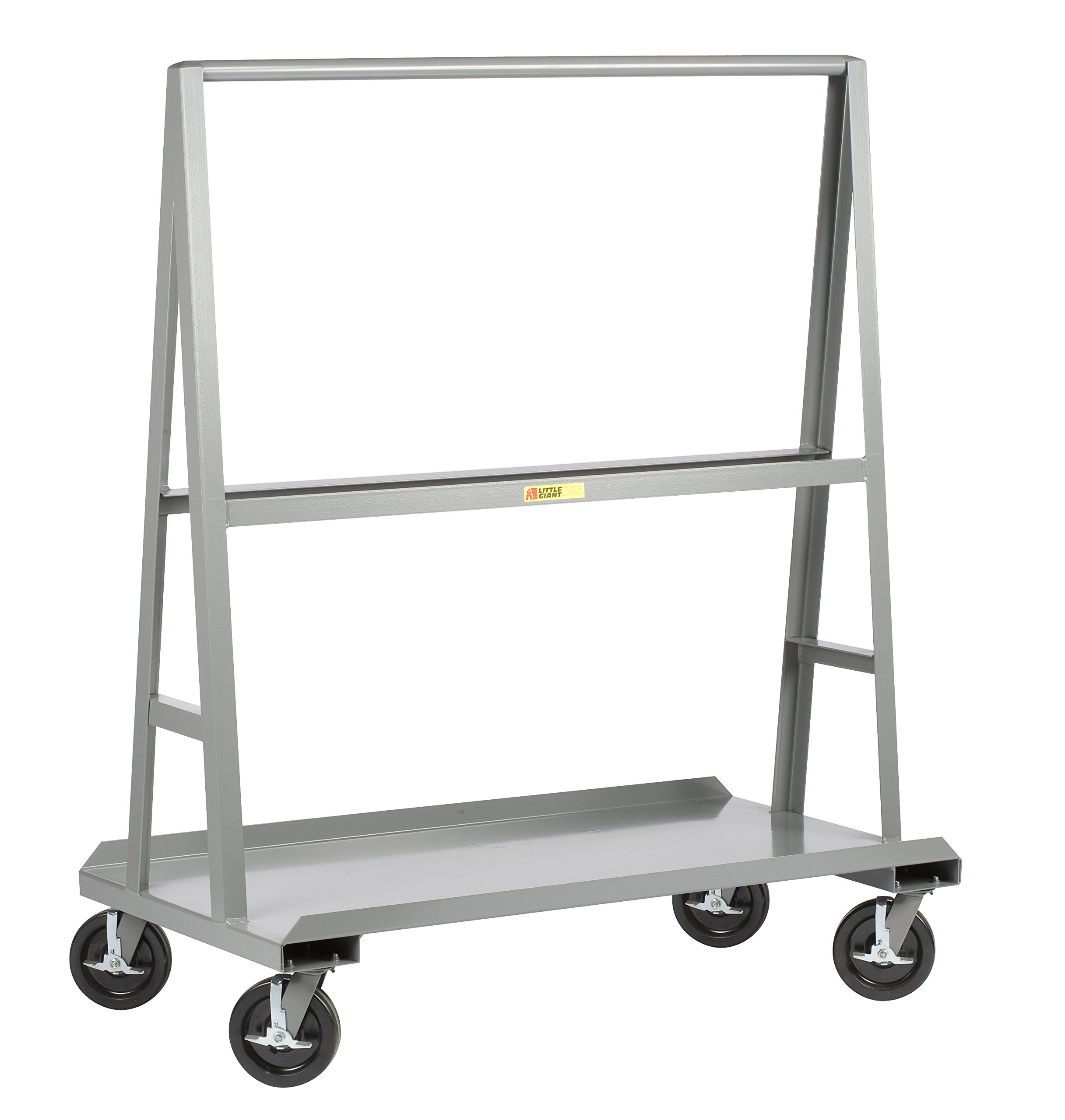 Little Giant AF-3060-BK ''A'' Frame Sheet and Panel Truck, 30'' x 60'', Gray