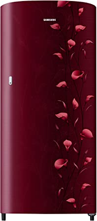 Samsung 192 L 2 Star Direct Cool Single Door Refrigerator(RR19N1112RZ/HL, RR19N2112RZ/NL, Lily Red)