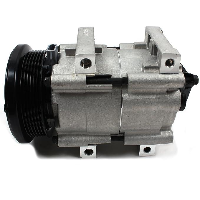 Nueva acc58140 AC a/c compresor con 6 ranuras de embrague para Ford/Mercury 3.0L 4.0L 5.0L 1990 - 06: Amazon.es: Coche y moto