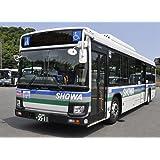 全国バスコレクション JB052 昭和バス いすゞエルガ ノンステップバス ジオラマ用品