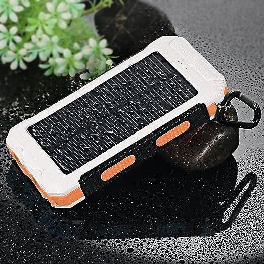 Amazon.com: Cargador solar de batería para teléfono celular ...