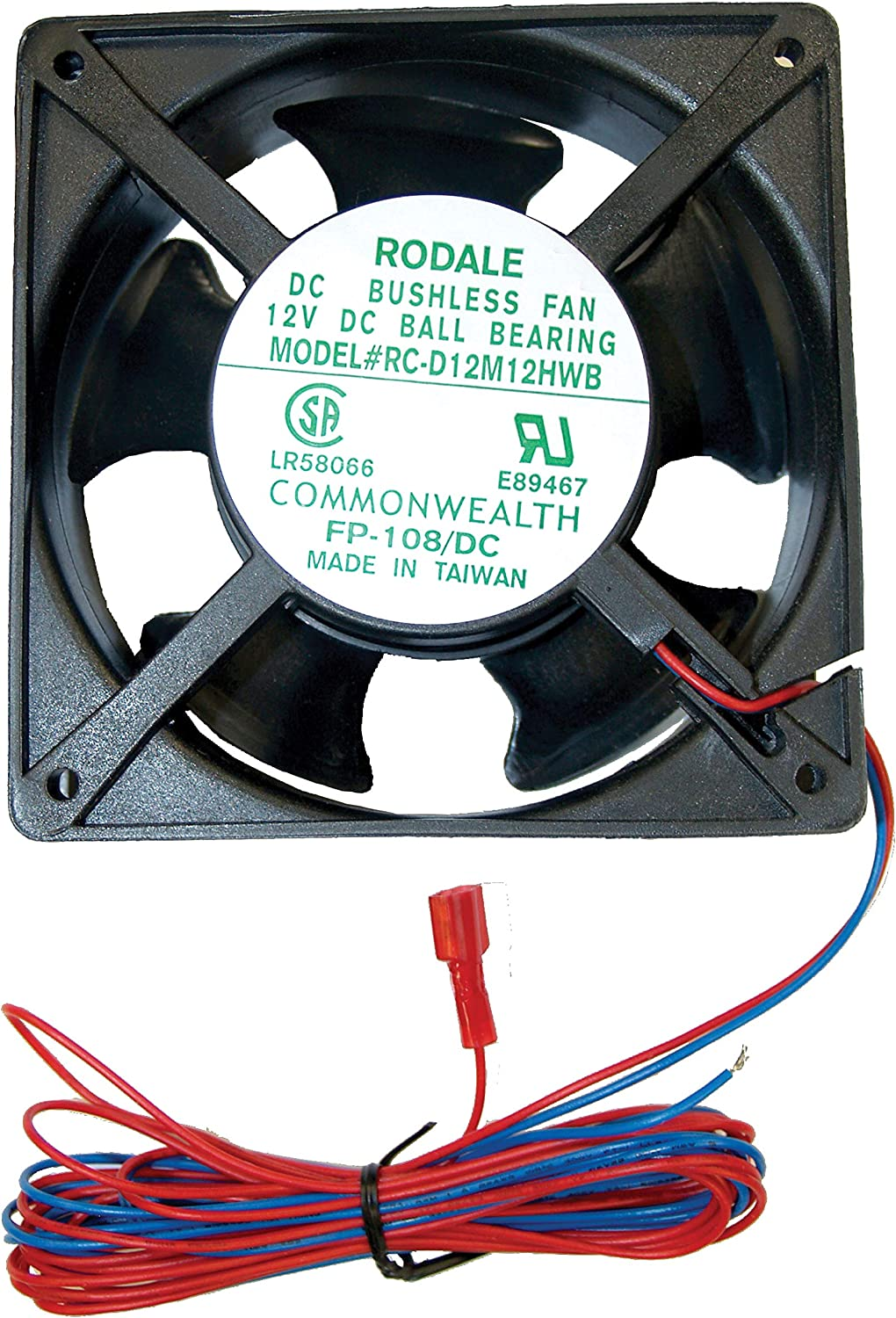 Dometic 3108705.751 Innovator Power Ventilator Kit - 95 CFM for Single Door