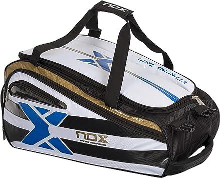 NOX Elite Paletero de Pádel, Unisex Adulto, Azul, Talla Única: Amazon.es: Deportes y aire libre