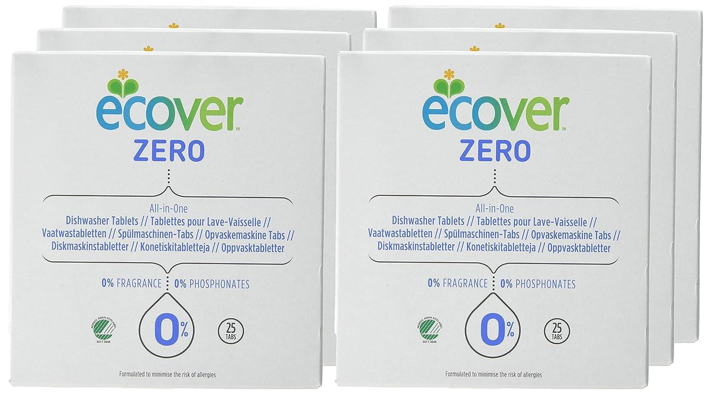 Ecover All In One lavavajillas 25 tabletas (caja de 6): Amazon.es ...