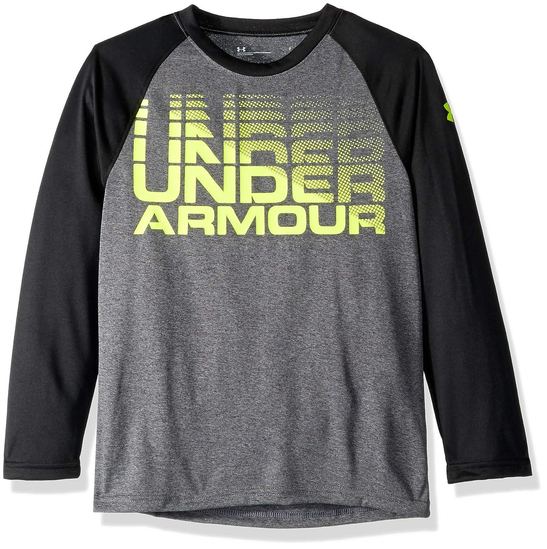 Under Armour Boys Long Sleeve Raglan Graphic Tee Shirt