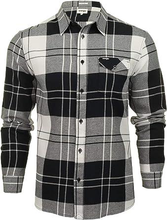 Wrangler - Camisa de manga larga para hombre: Amazon.es: Ropa y accesorios