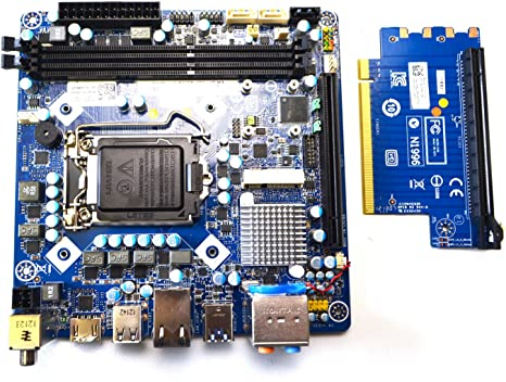 New Genuine Oem Dell Km92t Alienware X51 Mini Itx Motherboard W Pcie Riser Board Ykc2 X Cpu Cover Backplate Intel H61 Socket Lga1155 Rev A00 Ddr3 Sdram Anwdt 8pg26 6 G6jw J1tw5 Dd0p8 Computers Accessories