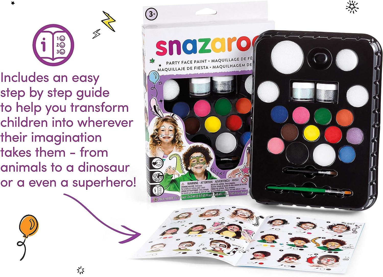 Snazaroo Ultimate Party Pack - Set de Maquillaje de Fiesta: Snazaroo: Amazon.es: Juguetes y juegos