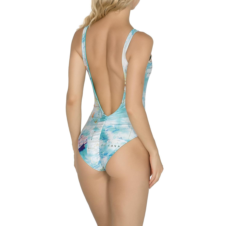 Voyage Swimwear Womens Eau Bodysuit Cannes VS16-Eau-BS-Can-L