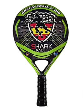 Shark Padel Pala Green Spain L300 SH059008 (365-370gr): Amazon.es: Deportes y aire libre
