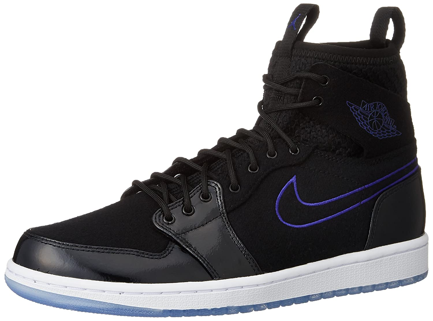 e368c3c11e5 Amazon.com: Jordan AIR JORDAN 1 RETRO ULTRA HIGH mens basketball-shoes  844700-002_11 - Black Concord Anthracite White …: Jordan: Sports & Outdoors