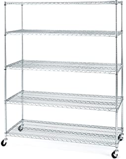 Heavy Duty Steel Goods Shelf on garage shelving ideas