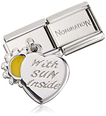 Nomination COMPOSABLE Classic CHARMS (Heart and Sun) 031700-28 t5geR
