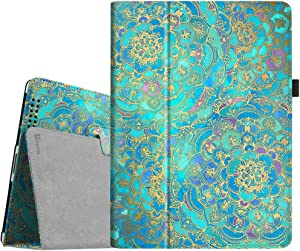 Fintie Folio Case for iPad 2 3 4 (Old Model) 9.7 inch Tablet - Slim Fit Smart Stand Protective Cover Auto Sleep/Wake for iPad 2, iPad 3rd gen & iPad 4th Generation Retina Display, Shades of Blue