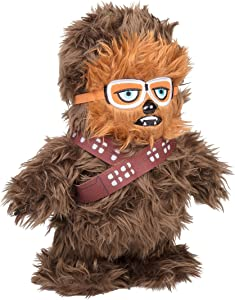 """SCS Direct Star Wars Walking Chewbacca Interactive Plush - Walk N' Roar - Makes Chewbacca Talking Sounds and Walks with a Tap - 12"""" - Ages 5+"""