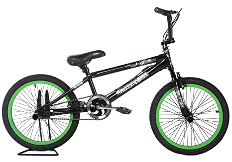 Leader - Bicicleta BMX freestyle, color negro: Amazon.es: Deportes ...
