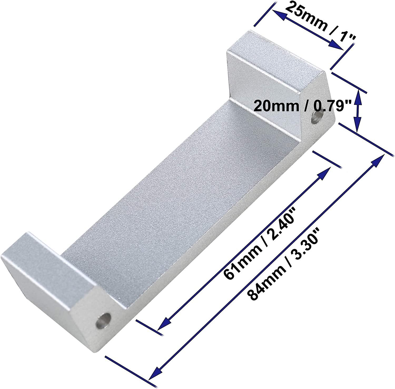 Extension Plate For Electric Strike Lock Access Control System 25mm /1in - -