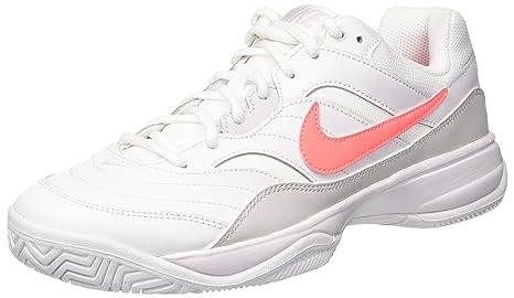 release date: 86f0c e2b03 Nike Wmns Nike Court Lite, Scarpe da Tennis Donna, Bianco (White   Lava