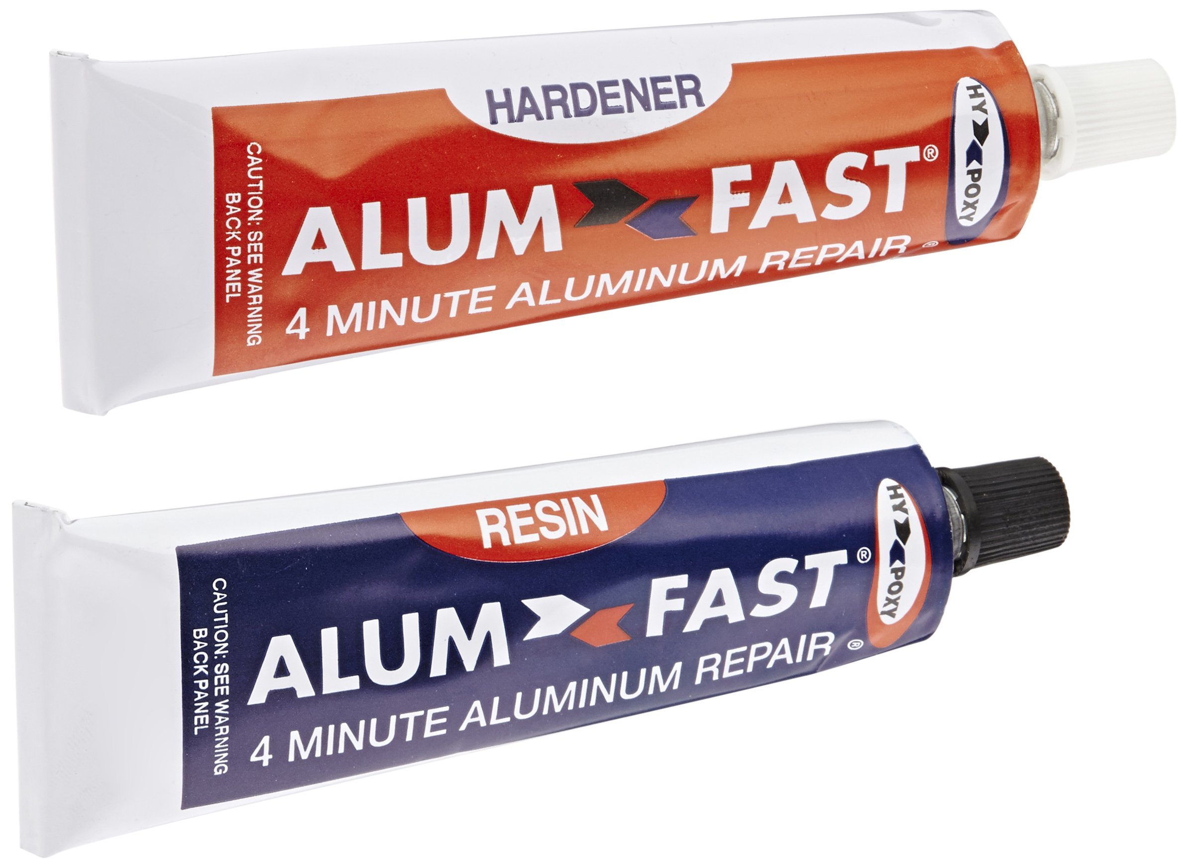 Hy-Poxy H-455 Alumfast 6.5 oz Rapid Cure Aluminum Putty Repair Kit by HY-POXY