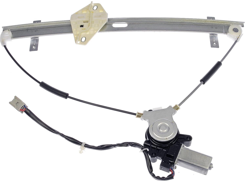 Dorman 741-303 Honda CRV Front Passenger Side Window Regulator with Motor Dorman - OE Solutions DOR741303