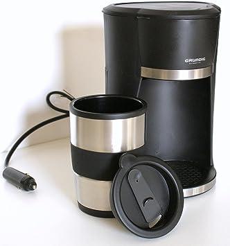 Grundig cafetera automática 12 V 170 W 1 11 incluye Cup calientacomidas-con tapadera para coche, automóviles, camiones, camping, barco, caravanas etc.: Amazon.es: Hogar