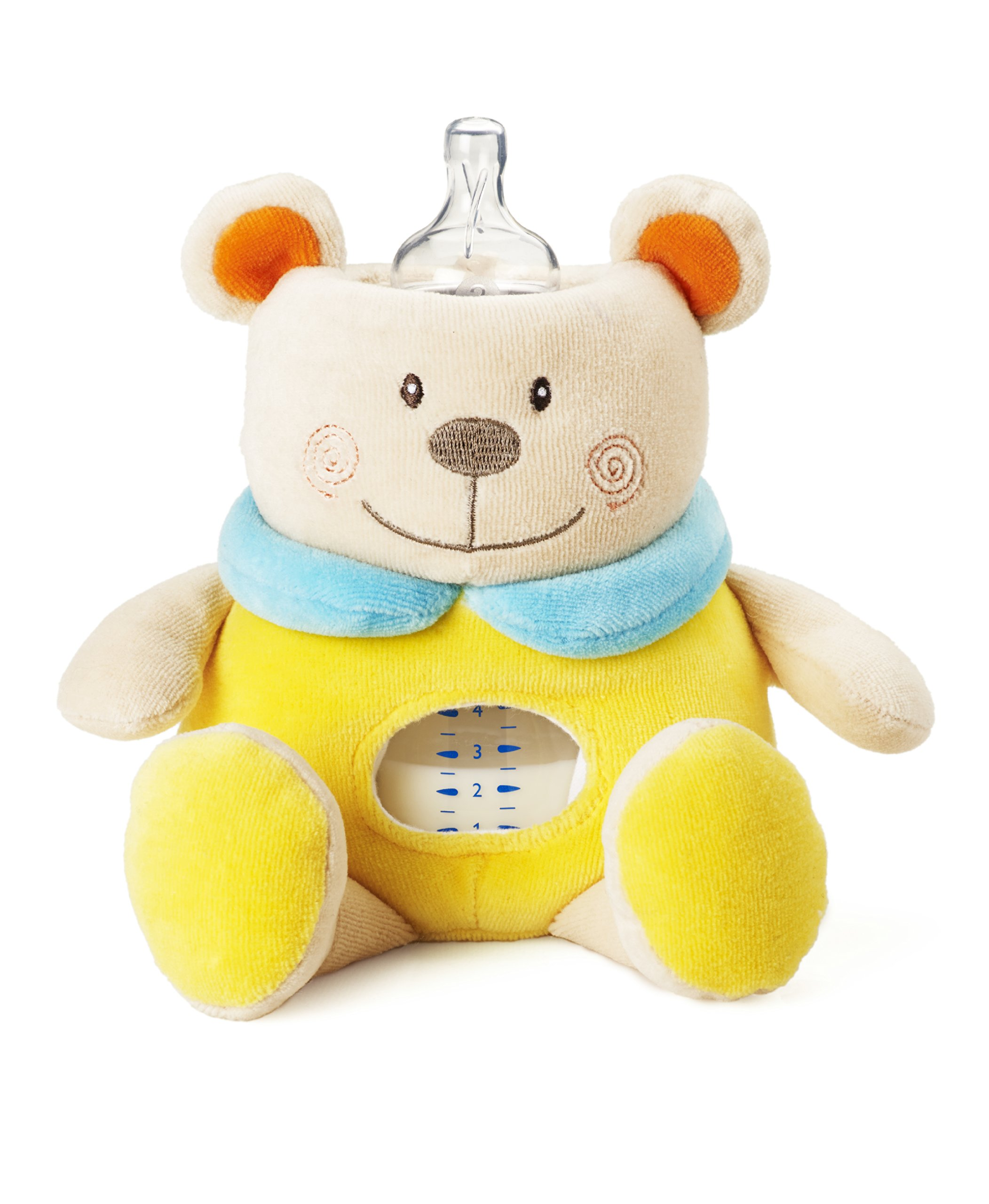 Milkysnugz Bear Bottle Holder (Yellow)